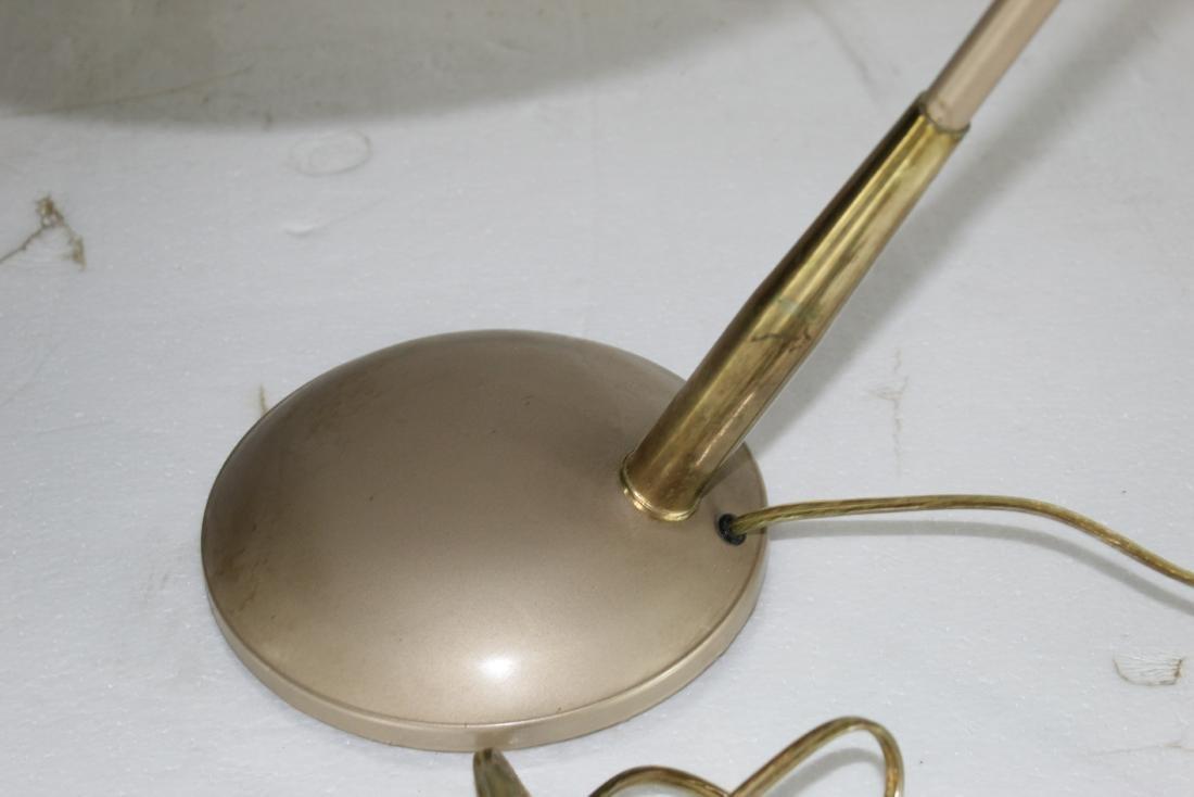 Med century Modern Desk Lamp w/ Shade - 4