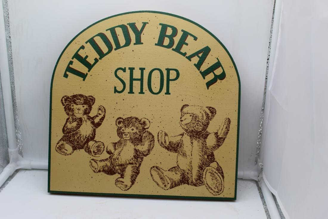 Teddy Bear Shop Sign