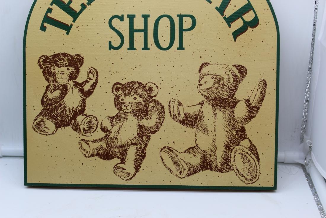 Teddy Bear Shop Sign - 3