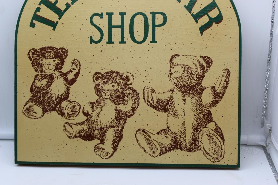 Teddy Bear Shop Sign - 4