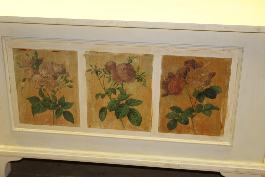 Hand Painted Blanket Chest - 4