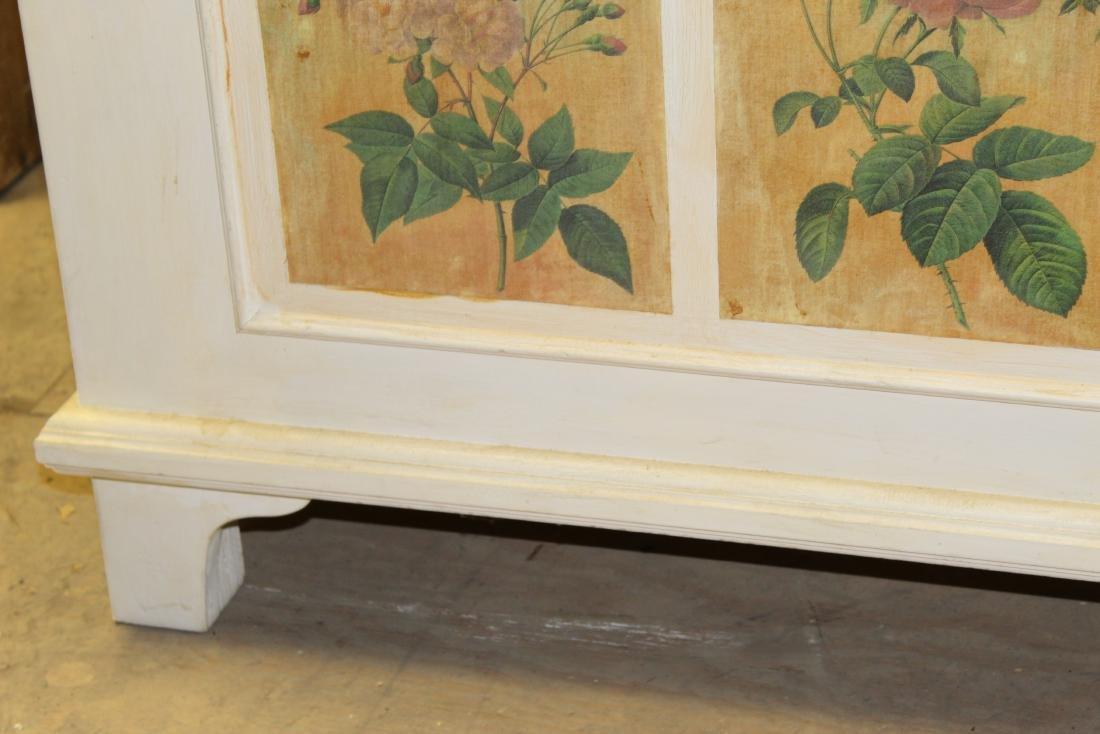 Hand Painted Blanket Chest - 8