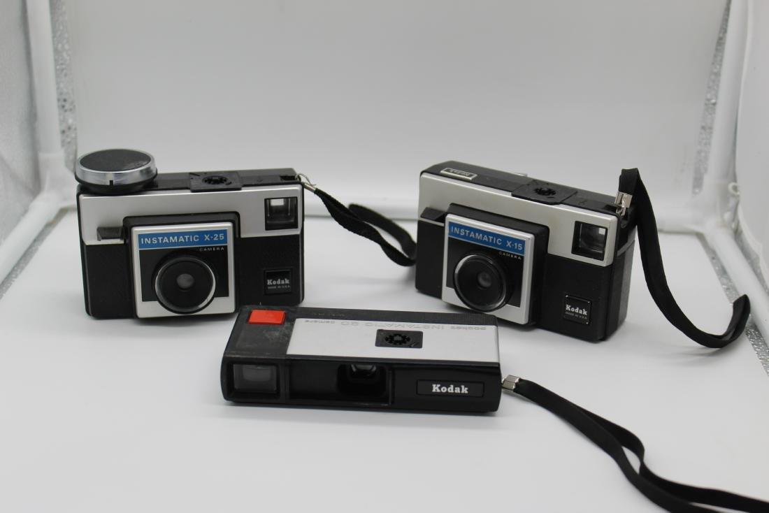 Lot of 3 Kodak Camera