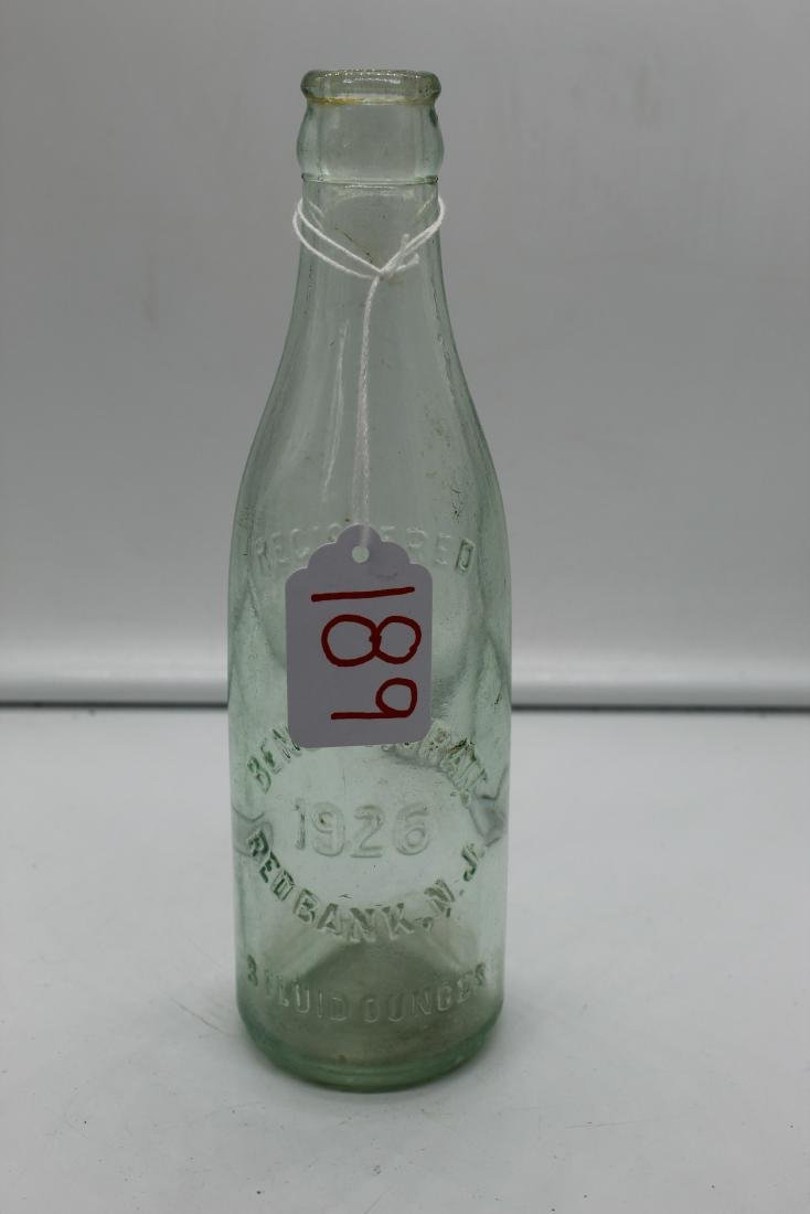 Lot of 14 unique glass bottles - 10