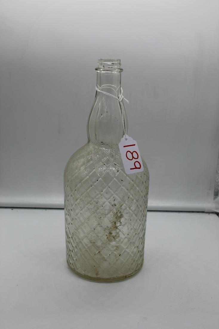 Lot of 14 unique glass bottles