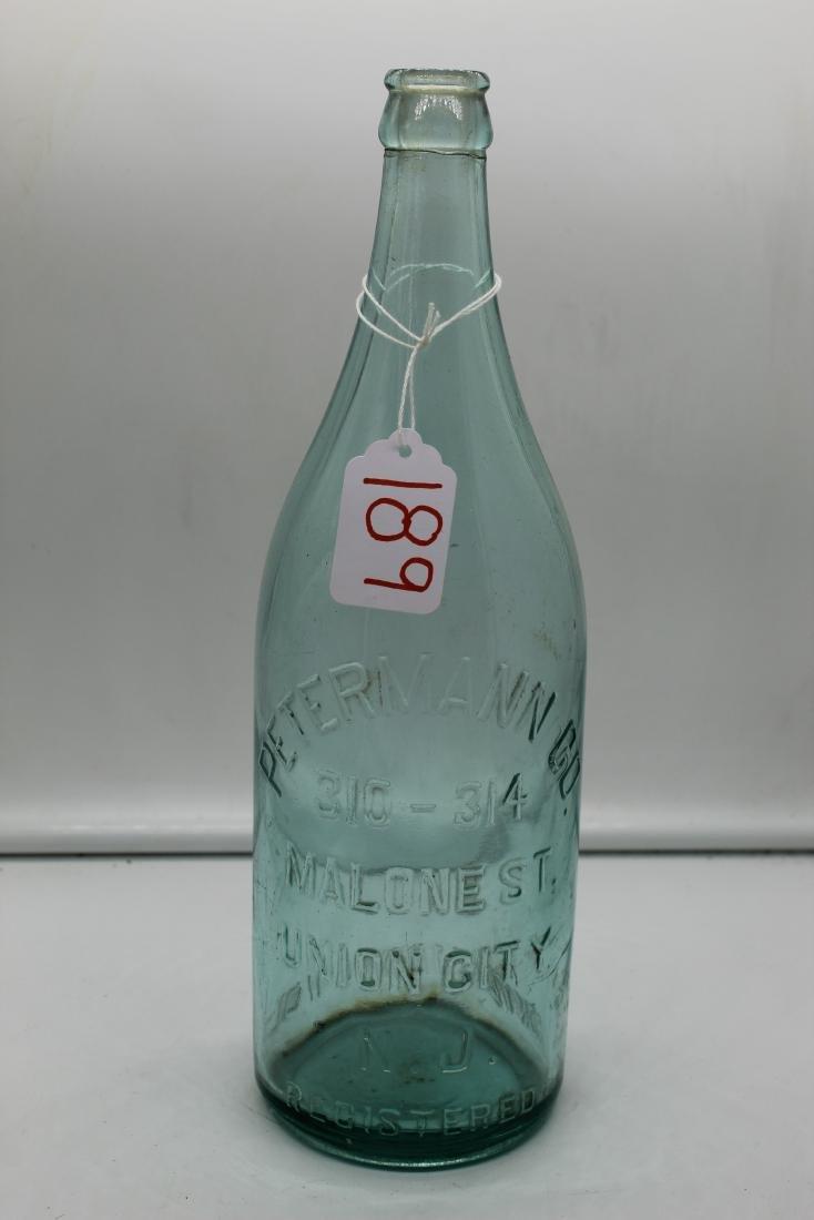 Lot of 14 unique glass bottles - 8