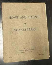 1891 The Home&Haunts of Shakespeare