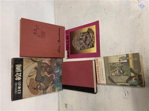 5 Books including Short Stories, Erotic Art, Asian Art,