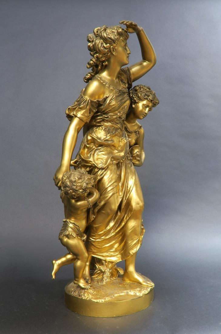 Monumental Mathurin Moreau (1822-1912) Sculpture. - 2