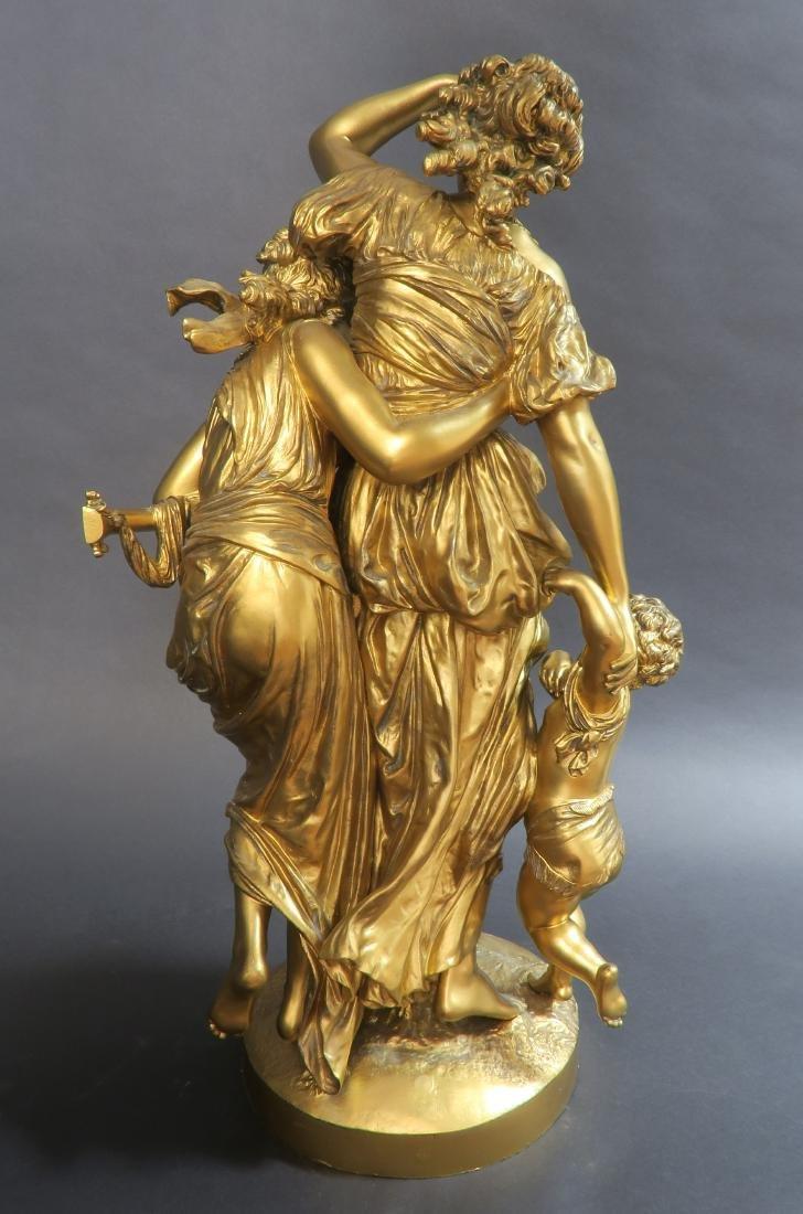 Monumental Mathurin Moreau (1822-1912) Sculpture. - 3