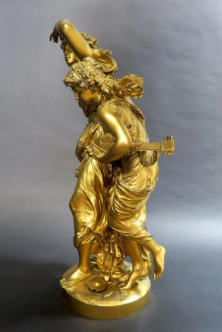 Monumental Mathurin Moreau (1822-1912) Sculpture. - 4