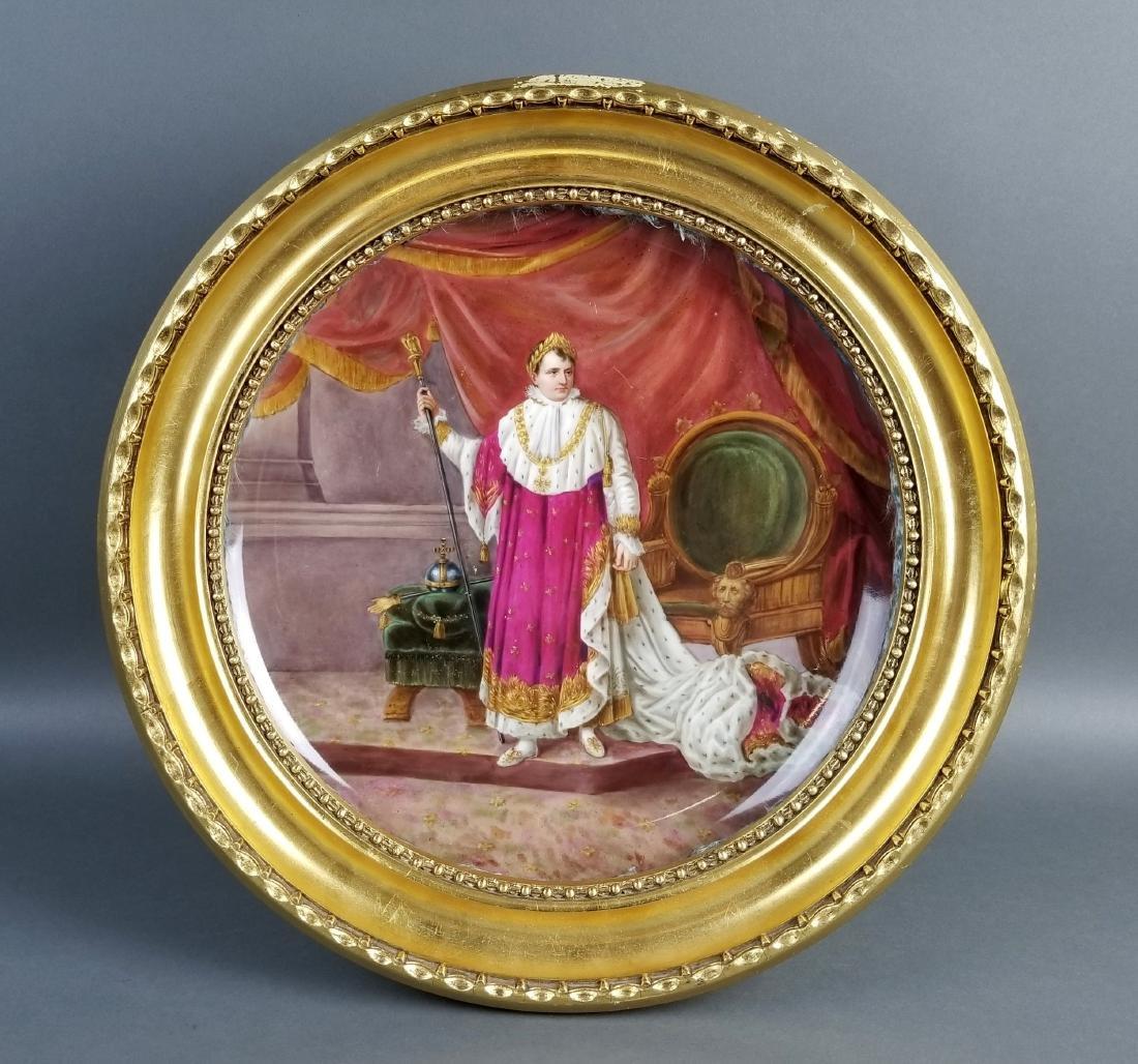 Late 19th C. Napoleon I Bonaparte Vienna Austria Framed
