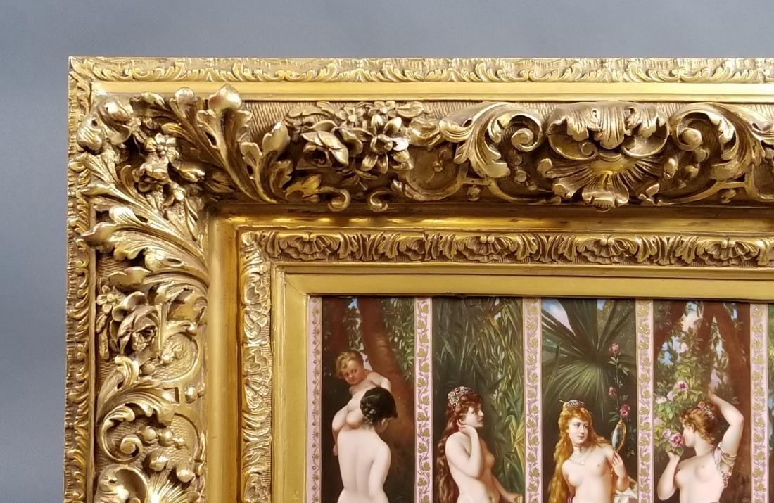"""A Magnificent Royal Vienna """"Five Senses"""" Porcelain - 3"""