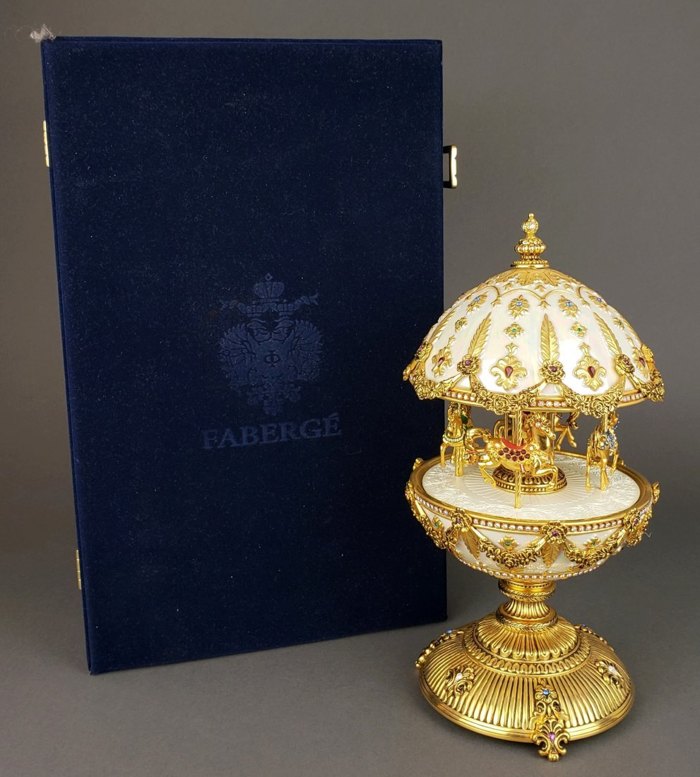 "Faberge "" The Imperial Carousel Egg"""