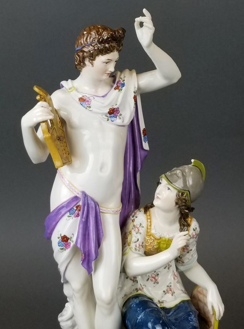 19th C. KPM Large Porcelain Figural Group - 2