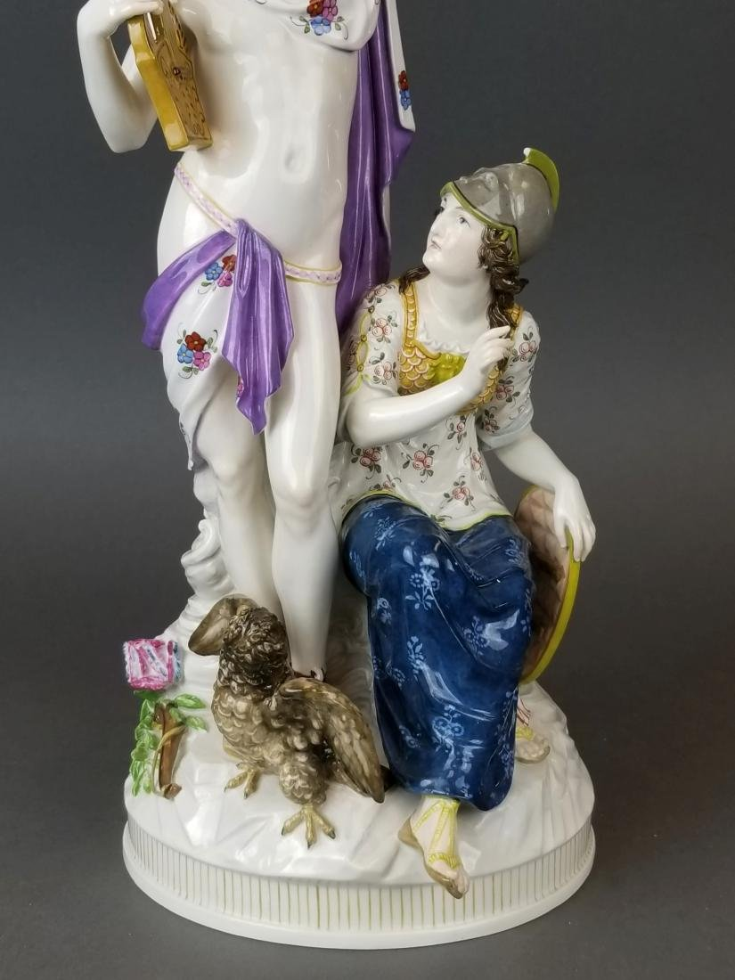 19th C. KPM Large Porcelain Figural Group - 3