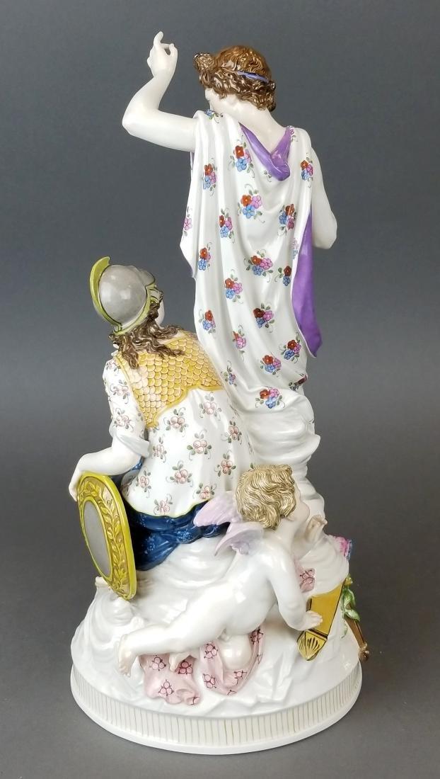 19th C. KPM Large Porcelain Figural Group - 5