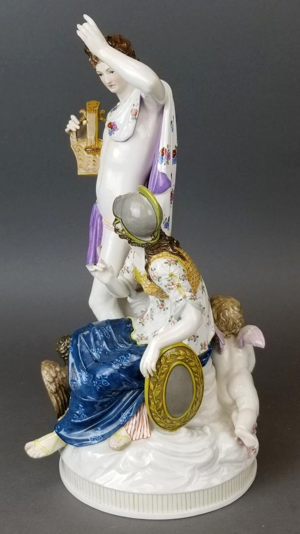 19th C. KPM Large Porcelain Figural Group - 6