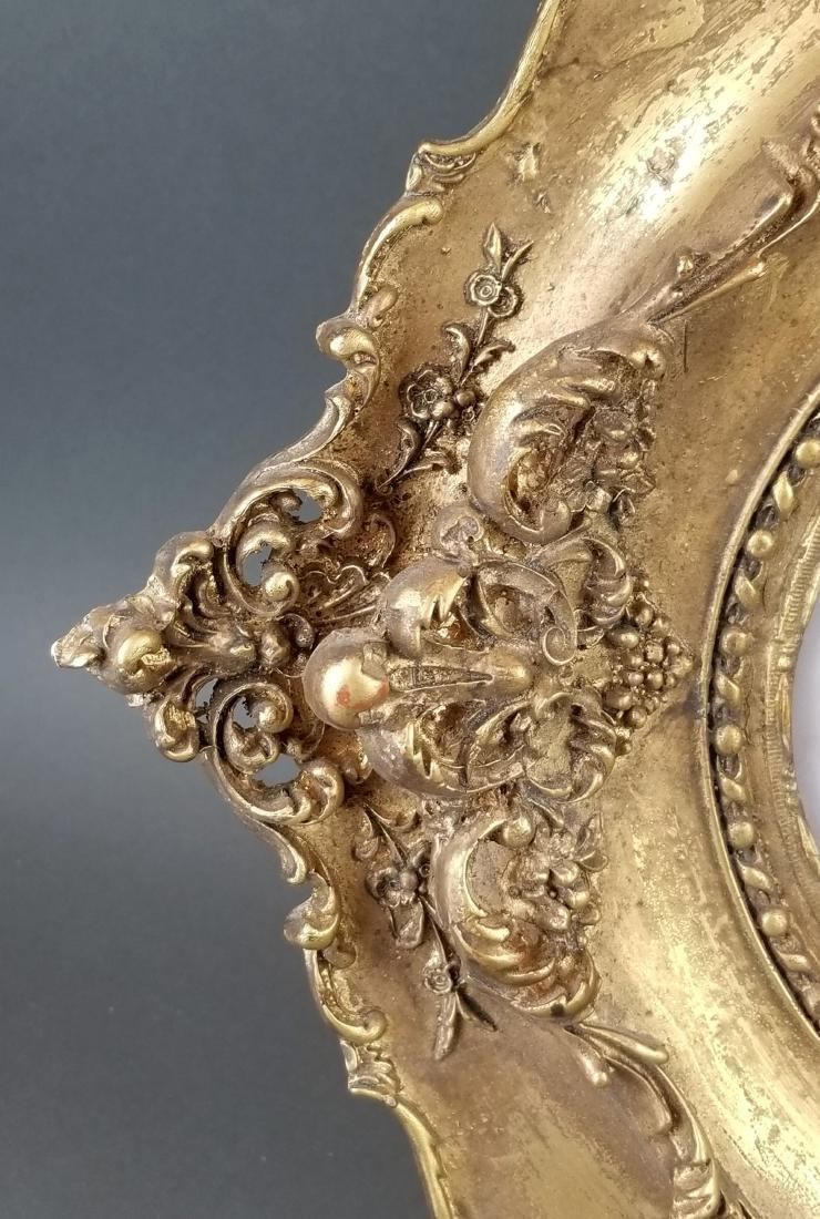 19th C. Framed Porcelain Plaque - 4