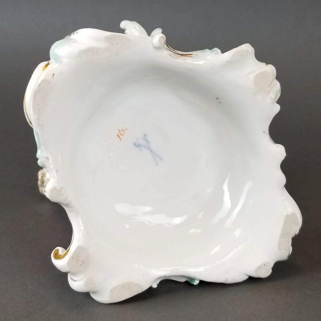 Pair of 19th C. Meissen Figural Vases - 5