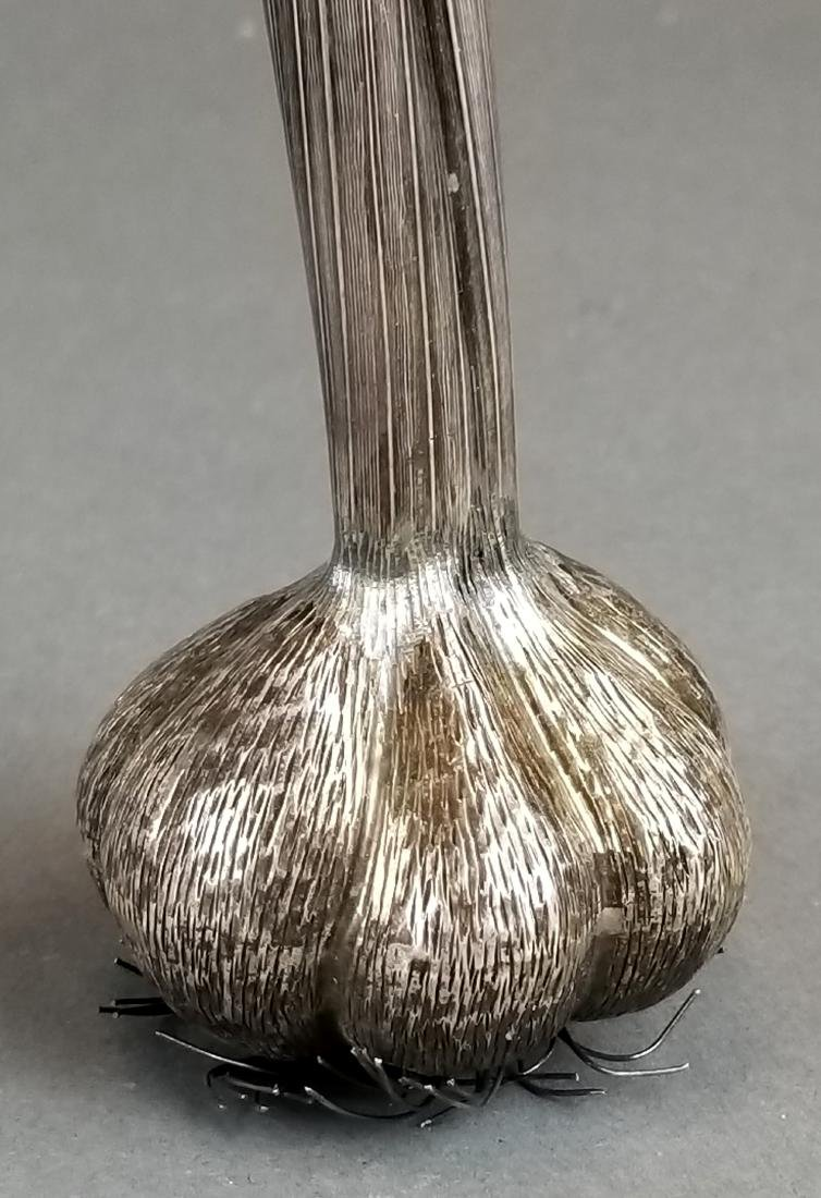 Buccellati Handamde Silver Garlic Figure - 2