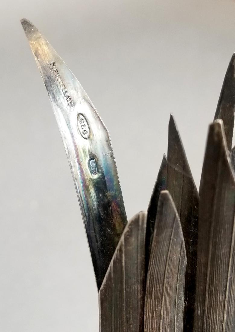 Buccellati Handamde Silver Garlic Figure - 3