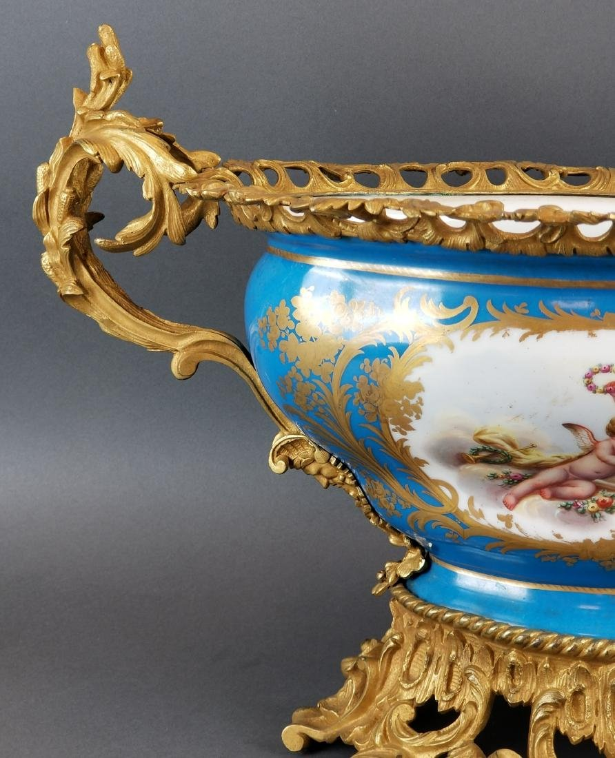 19th C. Large Sevres French Centerpiece - 3