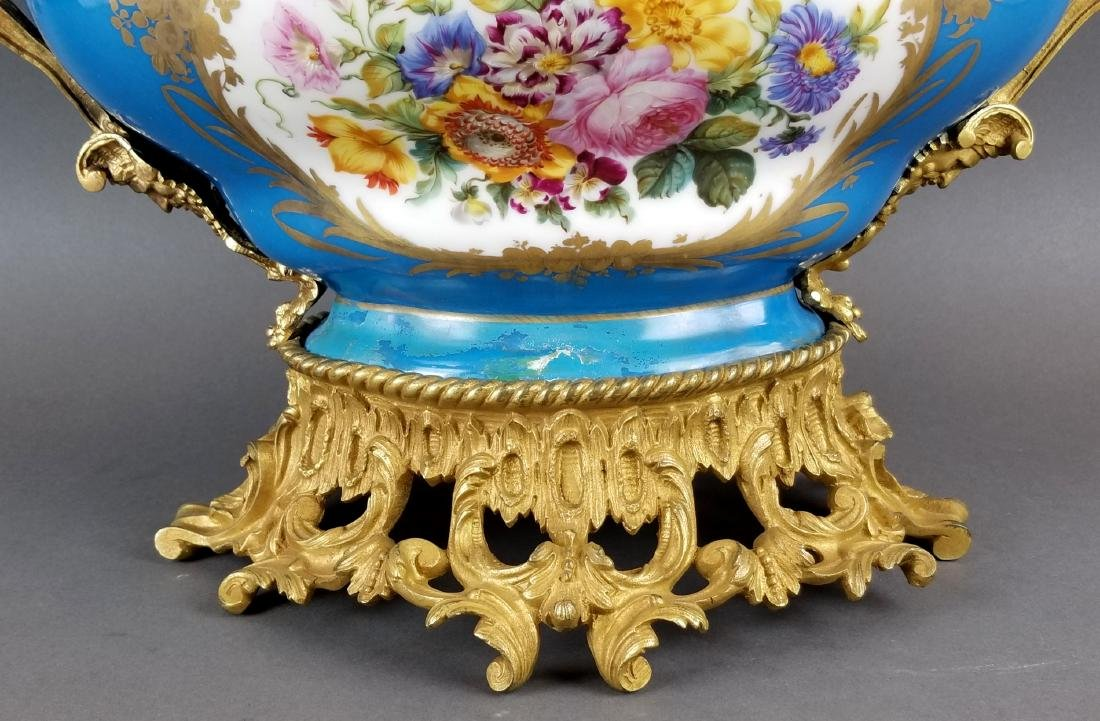 19th C. Large Sevres French Centerpiece - 5