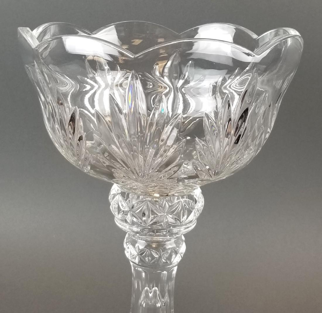 Large Crystal Vase - 2