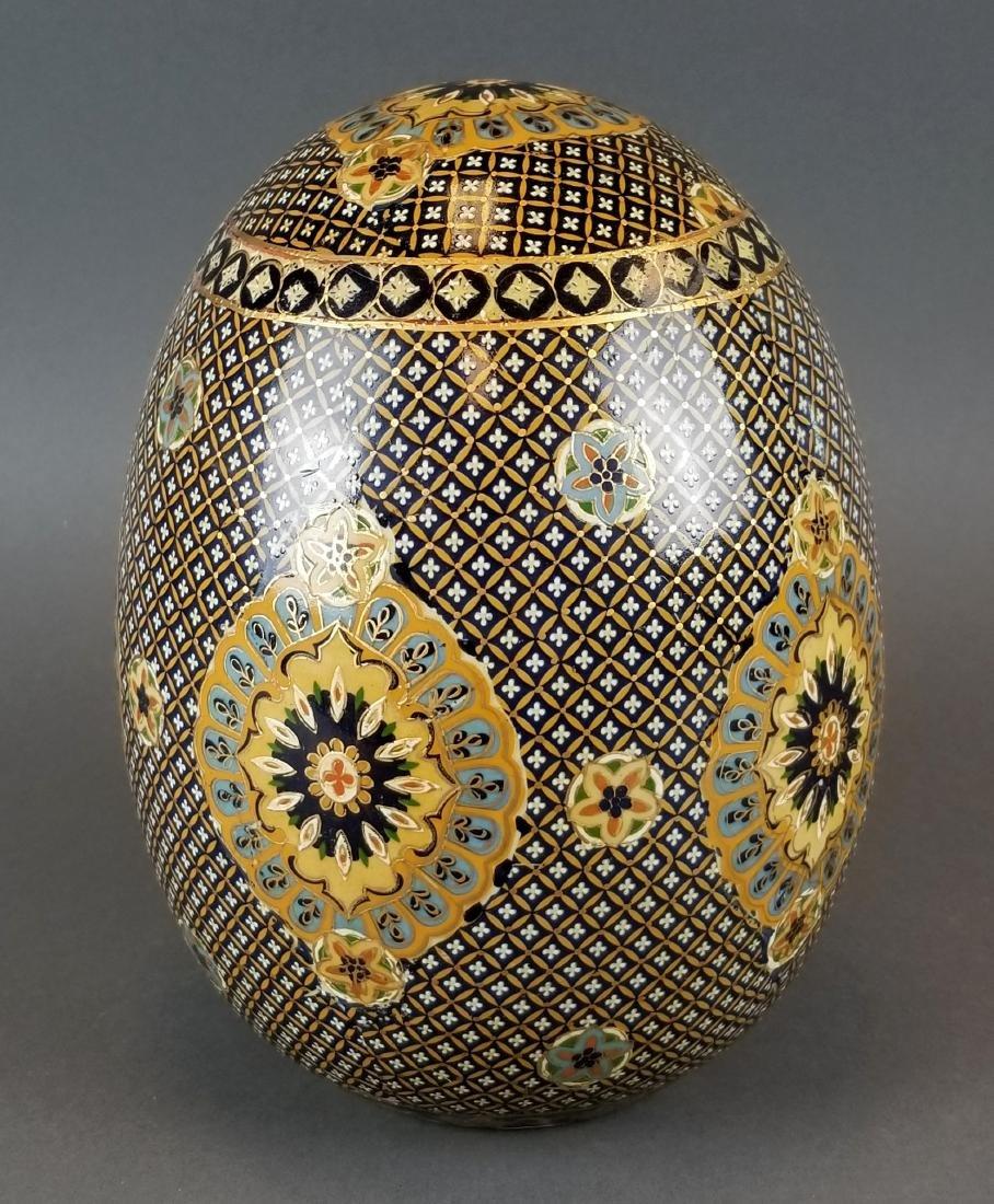 19th C. Royal Vienna Porcelain Egg