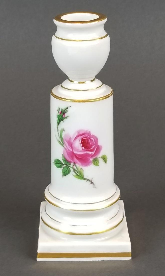 19th C. Meissen Candlestick