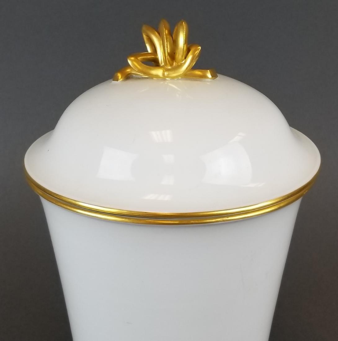 19th C. Meissen Vase w/ Lid - 2