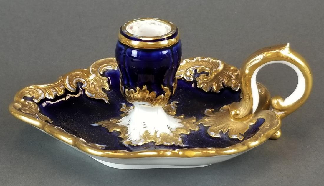 19th C. Meissen Candle Holder