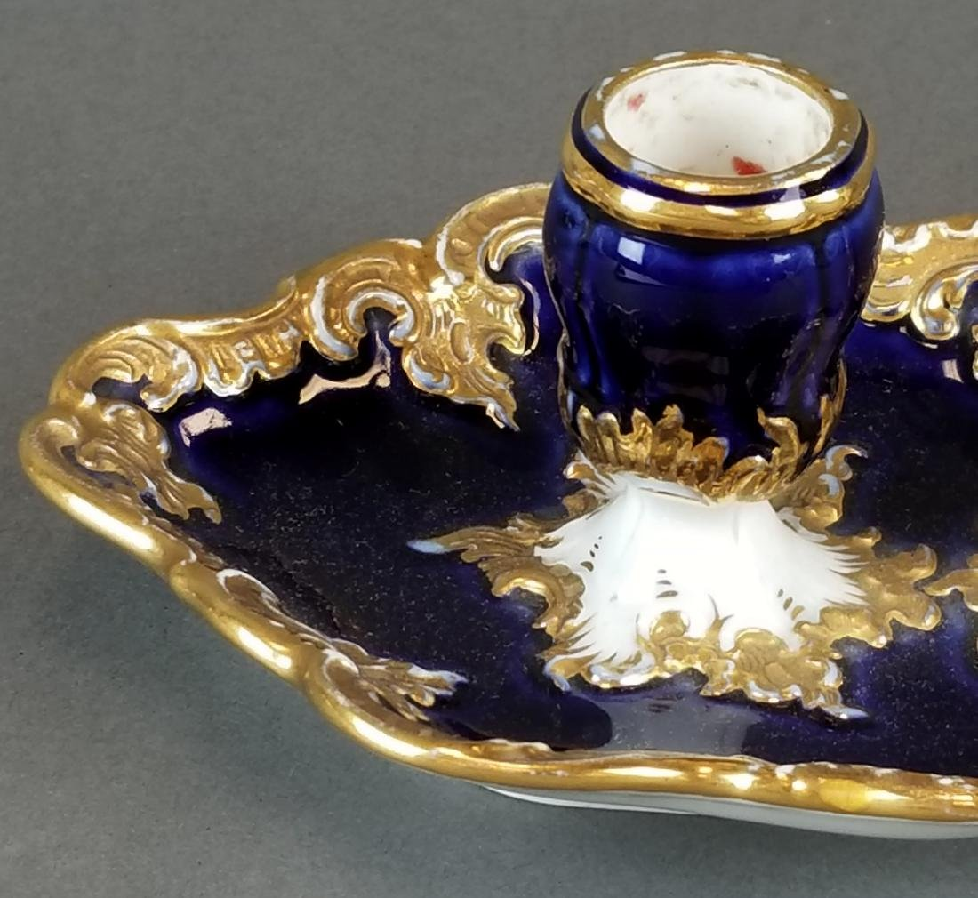 19th C. Meissen Candle Holder - 2