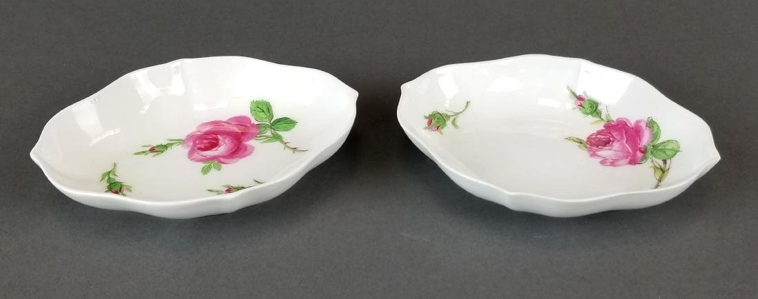 Pair of 19th C. Meissen Dishes