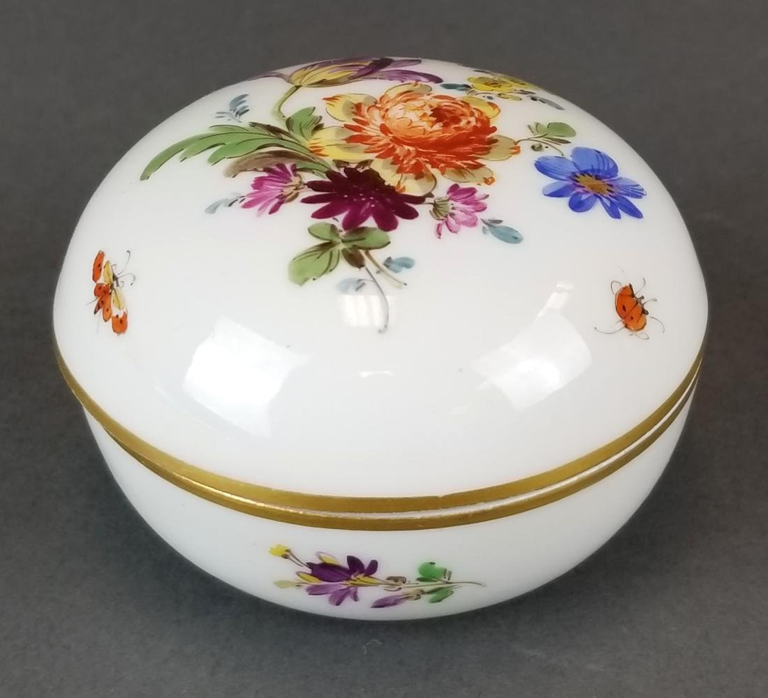 19th C. Meissen Covered Box