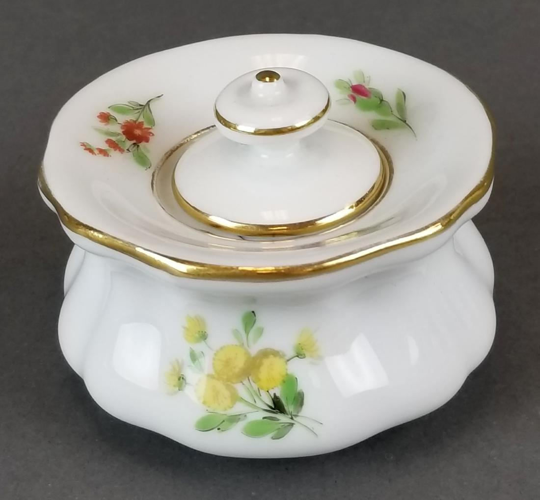 19th C. Meissen Covered Box - 2