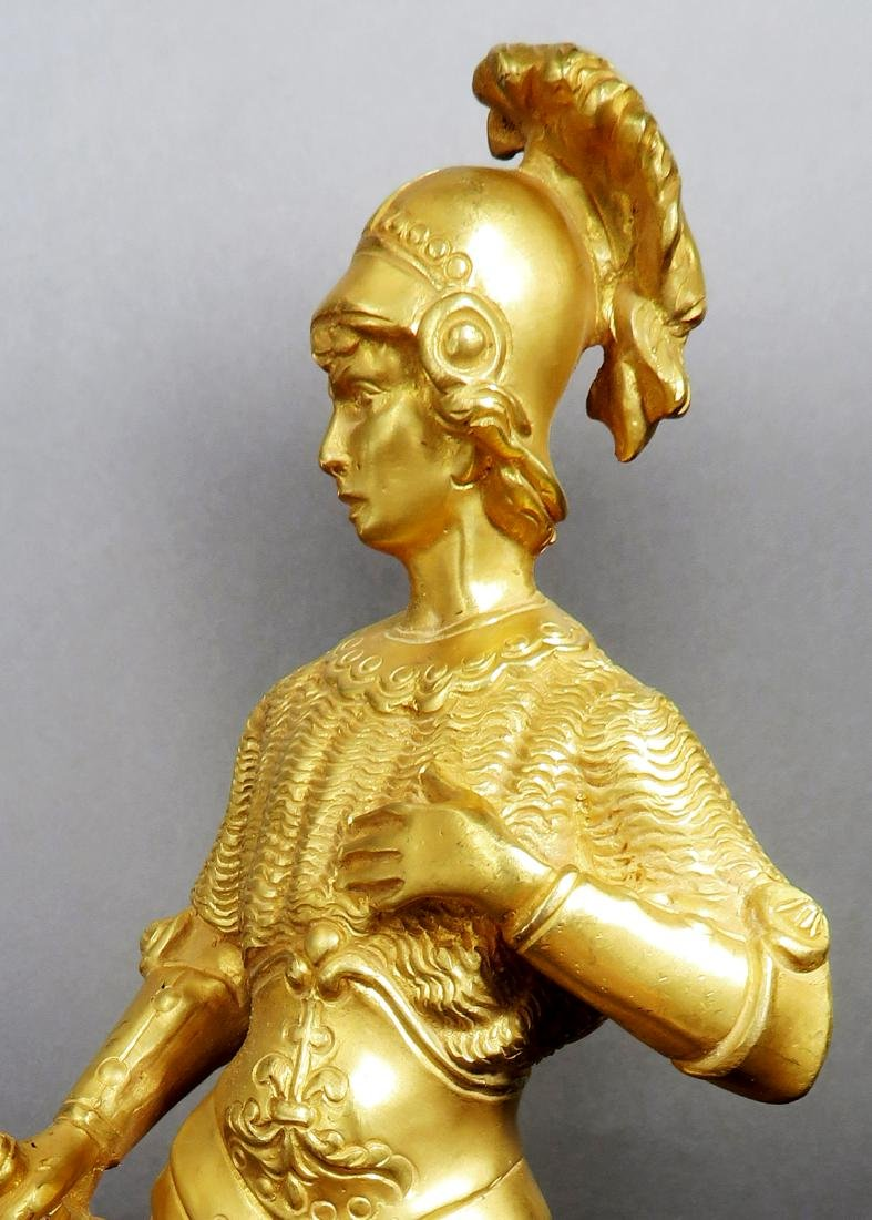 Pair Of Tiffany & Co  Gilded Bronze  Roman Soldiers - 9