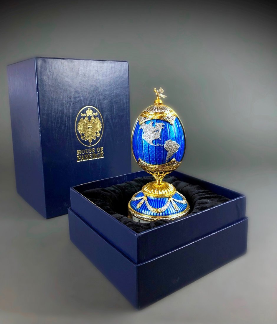 House of Faberge PEACE ON EARTH Sterling Silver