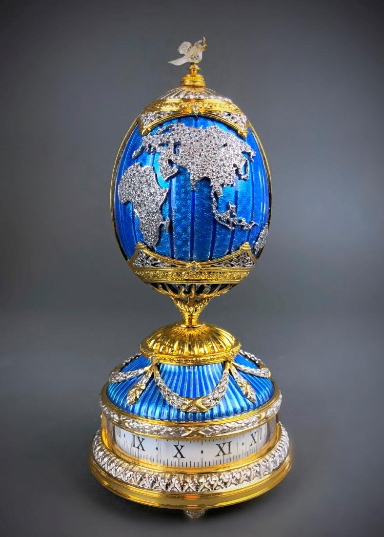 House of Faberge PEACE ON EARTH Sterling Silver - 3