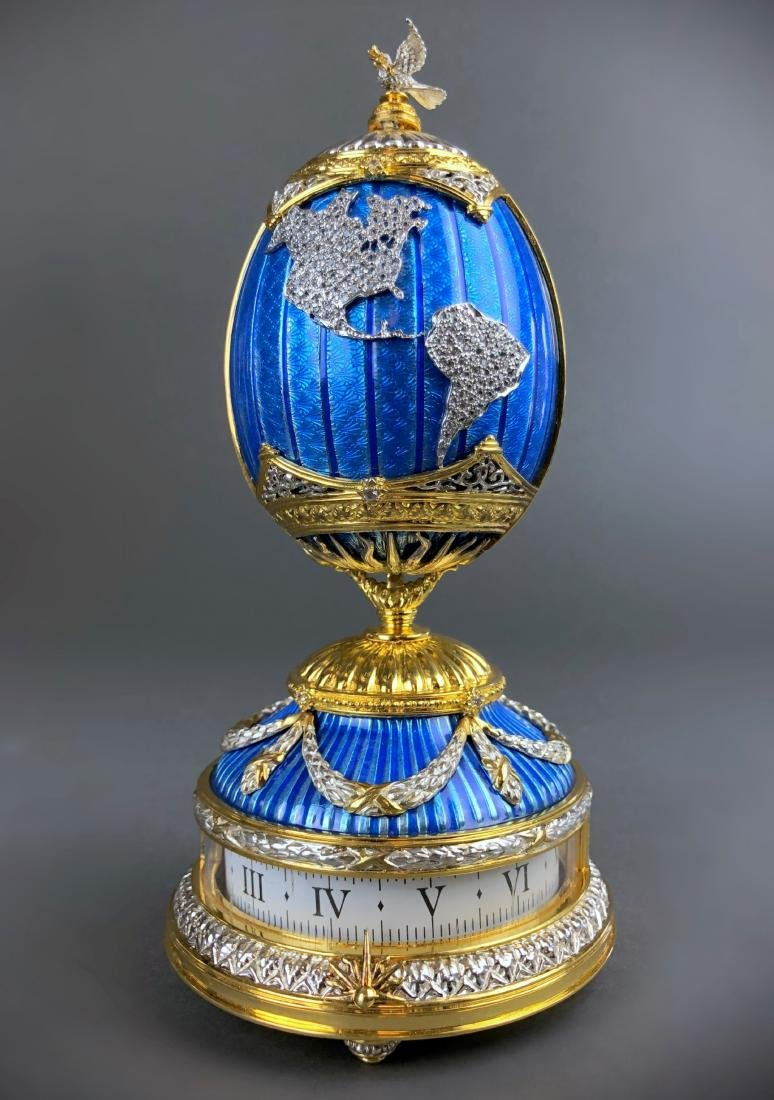 House of Faberge PEACE ON EARTH Sterling Silver - 4