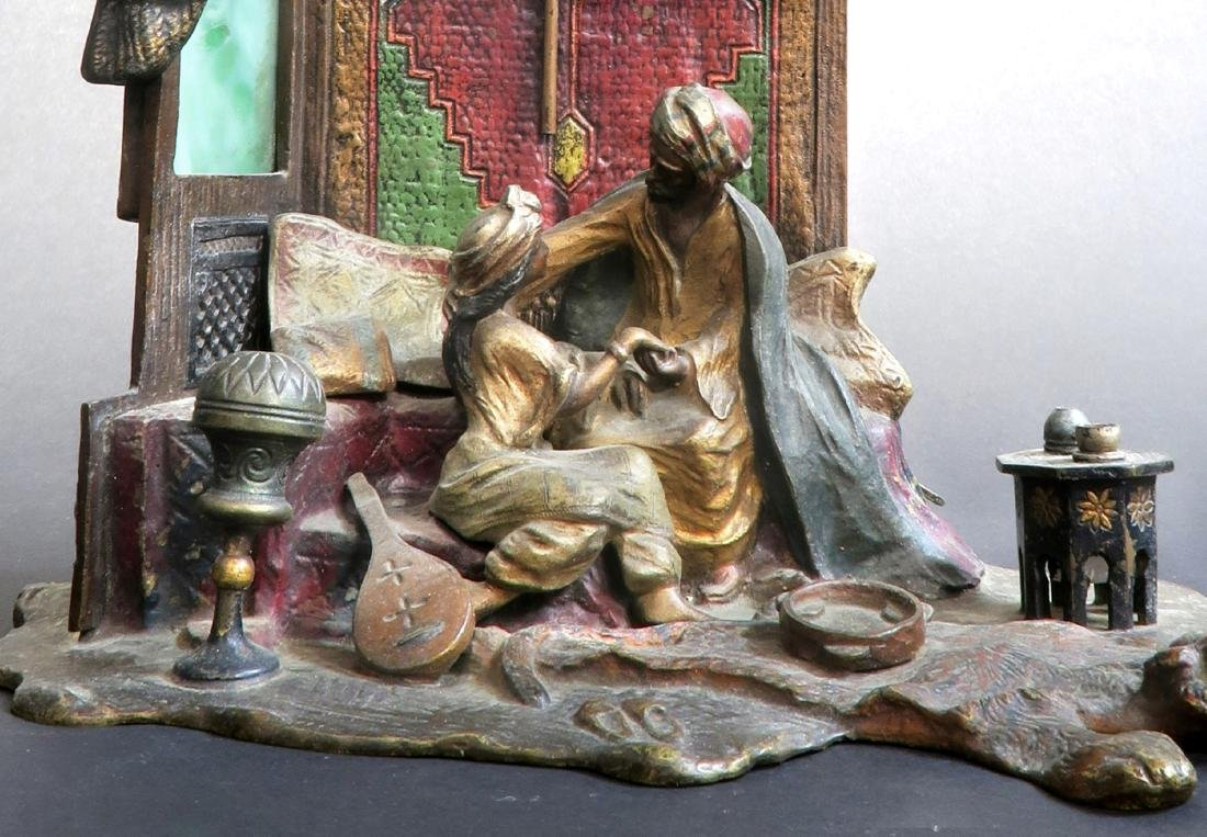 Anton Chotka Austrian Cold Painted Figural Orientalist - 3