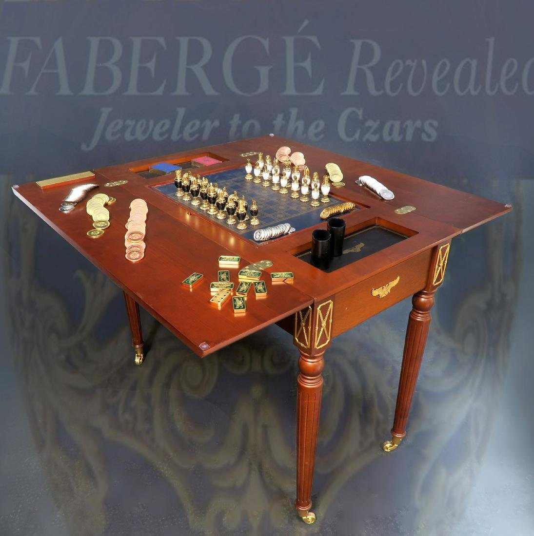 House of Faberge Imperial 5 in 1 Game Table Limited