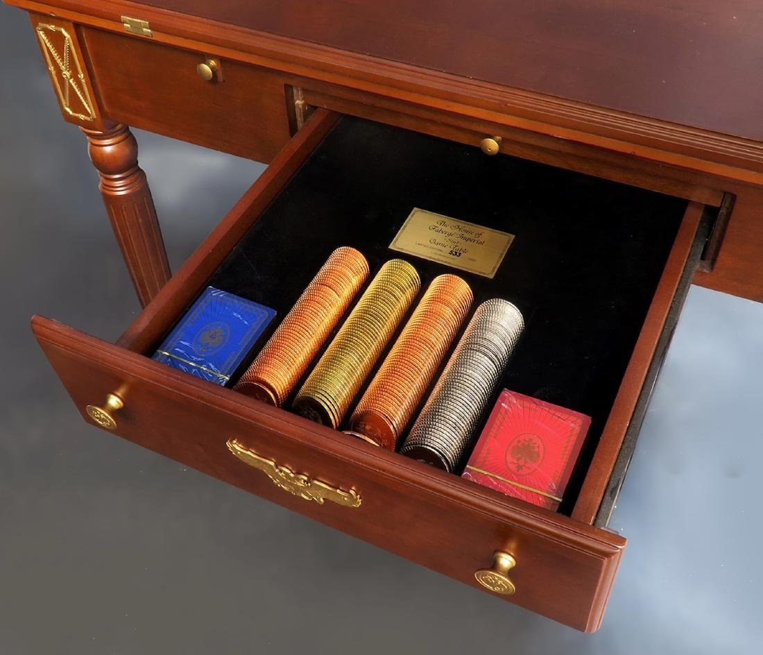House of Faberge Imperial 5 in 1 Game Table Limited - 2
