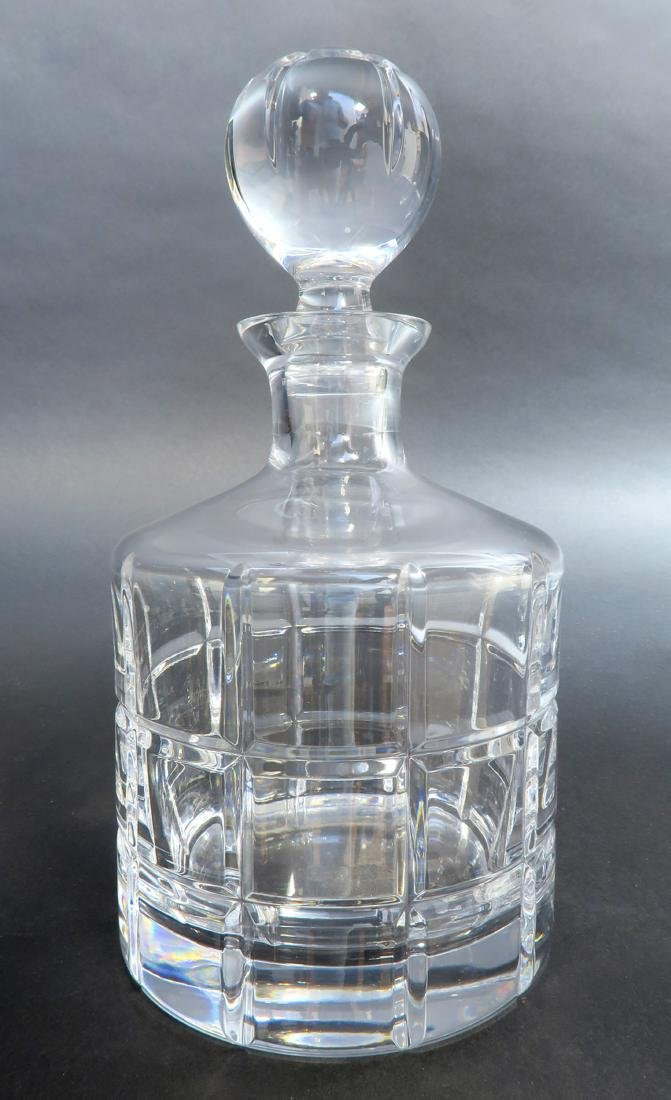 Immaculate Faberge Metropolitan Decanter with 3 Crystal - 2