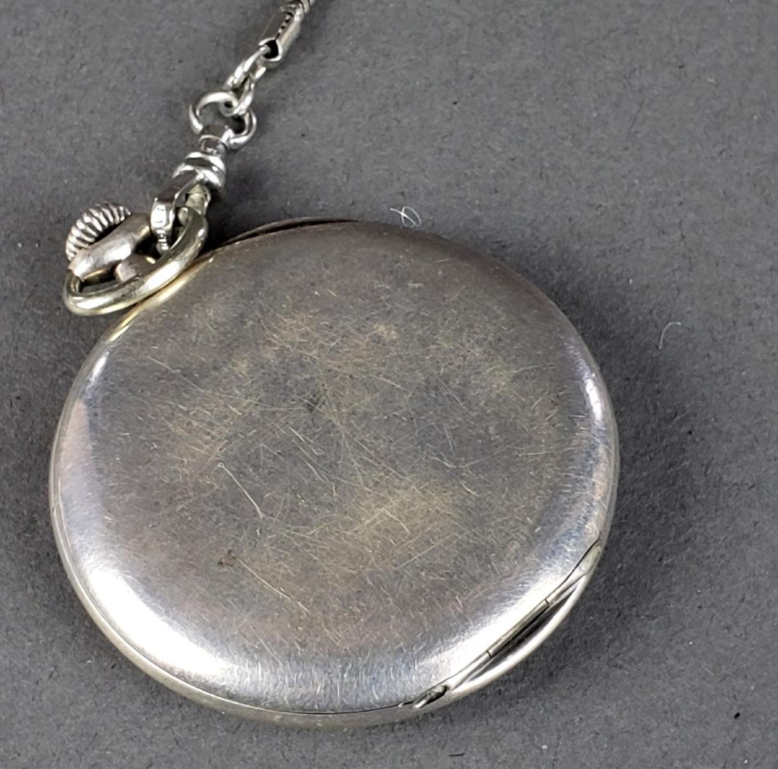 Tiffany and Co. 925 Sterling Silver Pocket Watch - 5