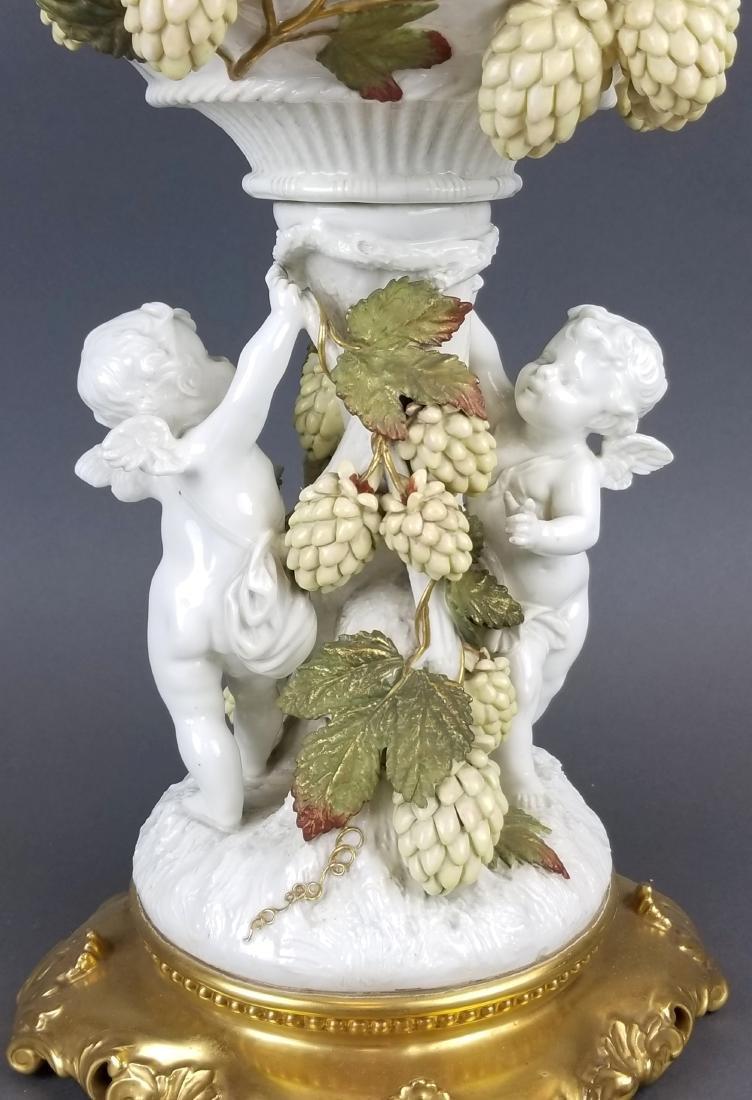 19th C. Figural Minton Centerpiece - 2