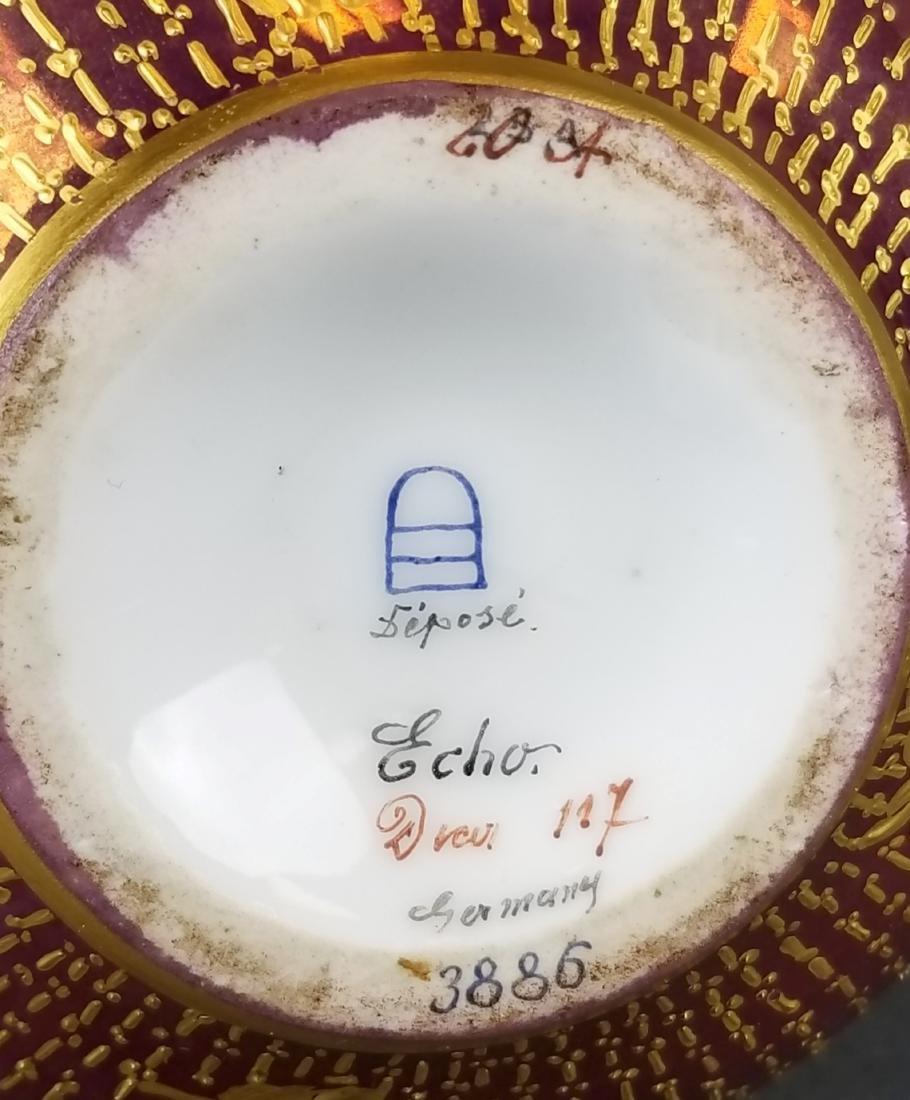 19th C. Royal Vienna Hand painted Vase - 5