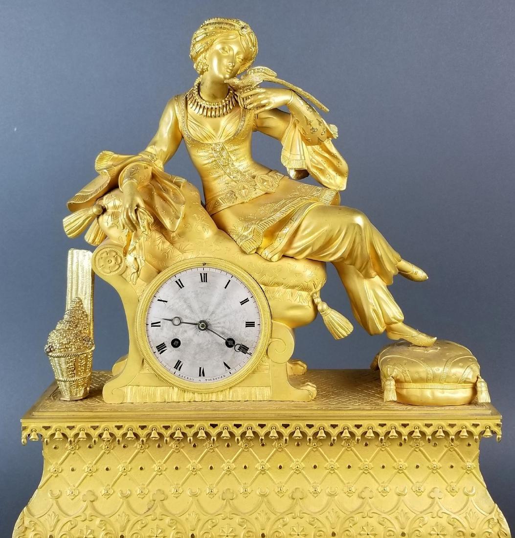 18th C. Exquisite Large Mercury Gold Empire Figural - 2
