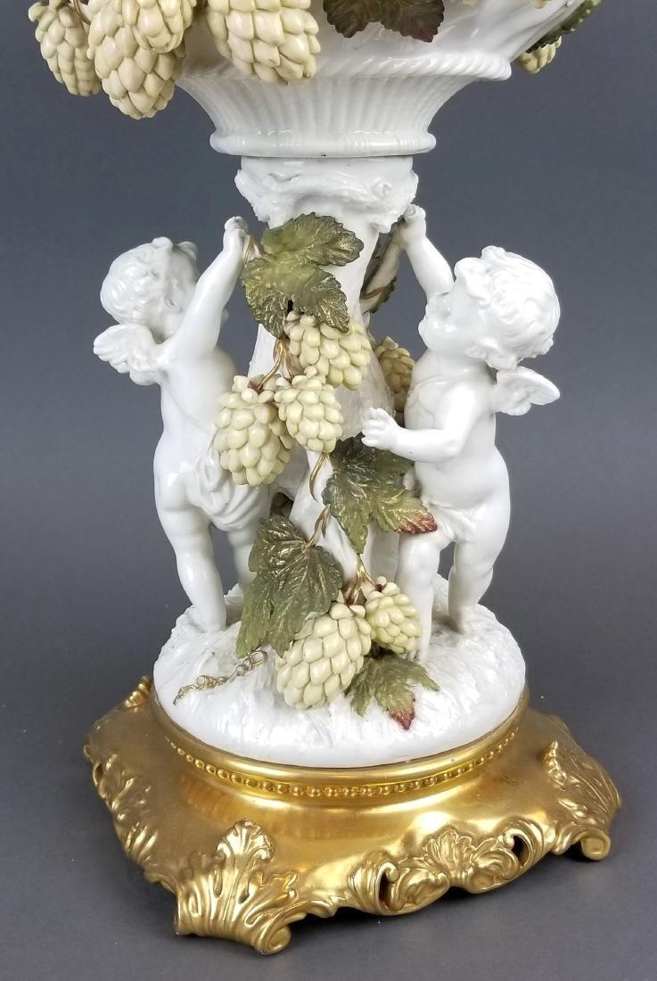 19th C. Figural Minton Centerpiece - 4